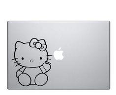 Hello Kitty - Macbook Laptop Decal Sticker | Graefiks -  on ArtFire
