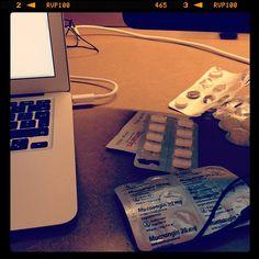 Poppin' pills, writin' code