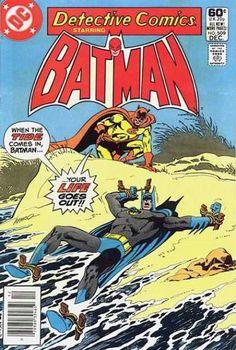 Batman - Beach - Tied Up - Water - Rocks - Jim Aparo