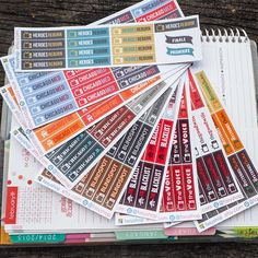 US TV Series Fall 2015 // NBC Network - Sticker Planner by FasyShop on Etsy