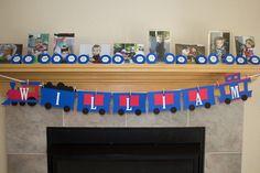 A Thomas the Train Birthday Party | Kristine's Kitchen