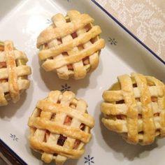 Binnenstebuiten appeltaartjes | Francesca Kookt!
