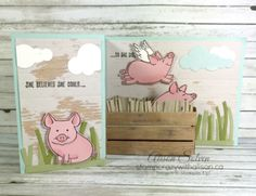 This Little Piggy 2 www.stampcrazywithalison.ca