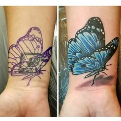 Cover Up Tattoos, Watercolor Tattoo, Tattoos Cover Up, Covering Tattoos, Temp Tattoo