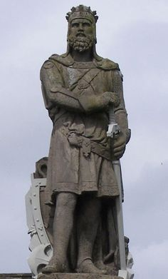 Scotland!  To find out more about our 18th Great Grandfather - King Robert the Bruce of Scotland