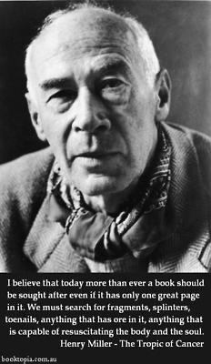 Henry Miller!
