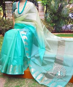 Elegant Kota Silk Saree with Paisley Border Kota Silk Saree, Tussar Silk Saree, Organza Saree, Soft Silk Sarees, Kota Sarees, Indian Sarees, Trendy Sarees, Stylish Sarees, Fancy Sarees