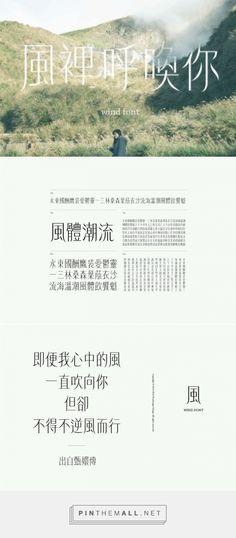 風體 Wind Font 字體設計 | MyDesy 淘靈感 - created via https://pinthemall.net