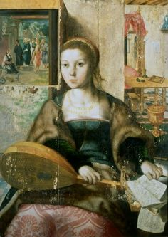 ♪ The Musical Arts ♪ music musician paintings - Jan van Hemessen | Die…