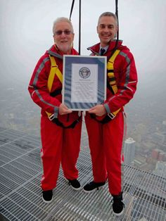 Guinness World Record - CN Tower