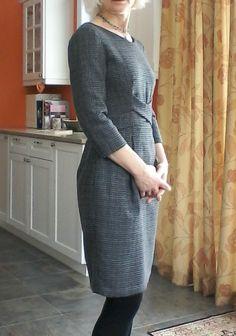 A little bit of Grace Burda Style Magazine, Peplum Jacket, Sewing Lessons, Chunky Wool, Timeless Elegance, Digital Pattern, Wool Sweaters, Pattern Fashion, Shades Of Blue