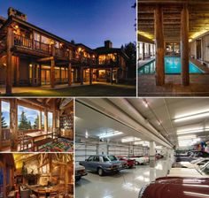 The Huntsman Estate ~ One of the most unique private estates in all of Utah is this 22,000 sq. ft. residence made of reclaimed Yellowstone logs. Perfect for large family vacations or corporate retreats, you can't pass up on this exclusive offering. Contact us at +1 435.640.7441for a private showing of this one-of-a-kind estate!
