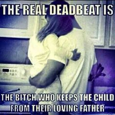 Beyond pathetic this happens, yet they claim to love the child...I couldn't agree more! Women need to understand that they are only hurting their children when they pull this crap and your children will only resent you for it in the long run! Think about it ladies!
