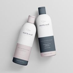 Design Noa - Bottle packaging for shell&swell. You are in the right place about Packagin Skincare Packaging, Perfume Packaging, Bottle Packaging, Beauty Packaging, Cosmetic Packaging, Brand Packaging, Book Packaging, Organic Packaging, Cosmetic Labels
