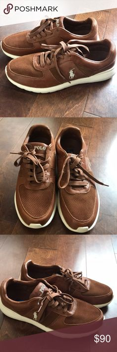 Polo Ralph Lauren leather sneakers Sz 11.5 Brand new pair of sneakers missing box. 100% cow leather upper . Polo by Ralph Lauren Shoes Sneakers