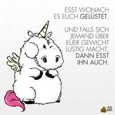 Hungriges Einhorn :)