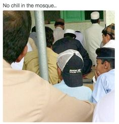 The things brothers wear to the mosque:   Just 19 Hilarious Things Muslims On The Internet Have Blessed Us With