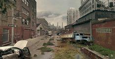 Abandoned City by Nacho3.deviantart.com on @DeviantArt
