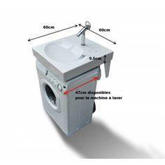 Lavabo Gain De Place Pour Machine A Laver Gpm1 Machine A Laver Idee Salle De Bain Salle De Bain Design