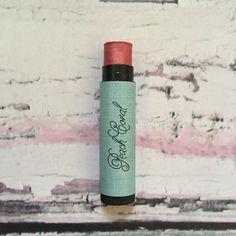 PEACH CORAL Argan Oil Tinted Lip Balm by ElsaNancySoaperia on Etsy