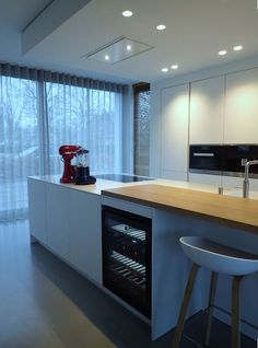Appliances in a #Poggenpohl #kitchen can be state of art without completely overwhelming your space.