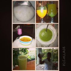 Sample of the daily goodness we enjoy @ the Caribbean Cleanse!