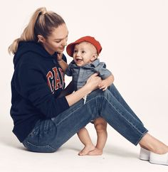 Candice Swanepoel and son Anacã star in Gap 'Mama Said' campaign