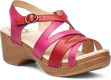 The Dansko Fuchsia Multi from the Stevie collection.