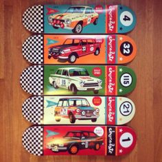 Chocolate Skateboard Decks Rally Sport Series Compete Set of 5 | eBay Evan Hecox