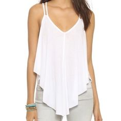 Free People Double Strap Swing Tank Top Worn a few times, good condition. Free People Tops Tank Tops