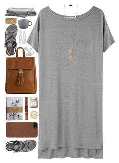 L by vera-ush on Polyvore featuring T By Alexander Wang, ASOS, Emperia, Incase, Forever 21, Burberry, Laura Mercier, CB2 and Urbanears