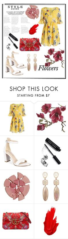"""""""Ready for summer ."""" by kelebek09 ❤ liked on Polyvore featuring Crate and Barrel, Kenneth Cole, Bobbi Brown Cosmetics, Charlotte Tilbury, Gucci and Maybelline"""