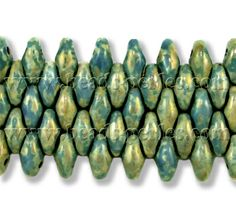 Cristal Checo - Superduo - 2,5x5mm - Blue Turquoise Senegal Luster (10 gr.) - Beads Perles Boutique