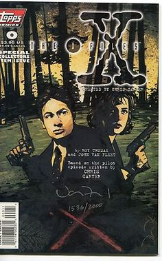 #Pinterest #eBay #Auction #XFiles 0 #Comic #Book Autographed by Artist John Van Fleet http://r.ebay.com/v8fjj4 #Chris #Carter Agents Fox Mulder & Dana Scully #David #Duchovny #Gillian #Anderson