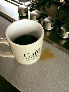 Il primo momento felice del mattino è il caffè
