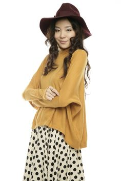 Yellow Long Sleeve Sweater