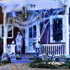 Spooky porch