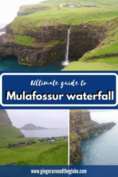 Mulafossur is one of the most iconic waterfalls in the Faroe islands. In this post you can find everything from how to get there to accomodation around or how is the hike around it. Beautiful Places In The World, Beautiful Places To Visit, Cool Places To Visit, Places To Go, Denmark Travel, Austria Travel, France Travel, Europe Travel Tips, Travel Info