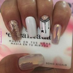 Nails gel, we adopt or not? - My Nails Manicure Nail Designs, Acrylic Nail Designs, Nail Manicure, Nail Art Designs, Gel Nails, Black Manicure, Stylish Nails, Trendy Nails, Love Nails