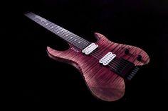 Kiesel Guitars Carvin Guitars Pink Arctic Vader V7