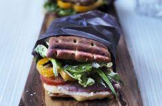 Lun sandwich med lufttørret skinke - nemlig.com