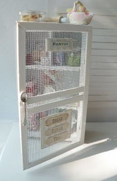 This is the cutest pantry for a little girl! I love the spoon as the door handle. More cute pics of it on the site.