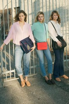 Mit Grace, Louisa und Mamie (v.l.) hat & Other Stories drei Celebrity-Sprösse gewonnen: Sie sind die Töchter von Meryl Streep.