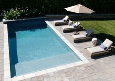 If you are working with the best backyard pool landscaping ideas there are lot of choices. You need to look into your budget for backyard landscaping ideas Amazing Swimming Pools, Small Swimming Pools, Backyard Pool Designs, Small Backyard Landscaping, Small Pools, Swimming Pools Backyard, Swimming Pool Designs, Small Backyards, Landscaping Ideas