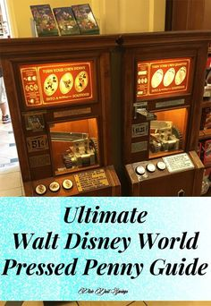 Ultimate Walt Disney World Pressed Penny Guide, Walt Disney World Tips, Disney Collectibles Disney World Parks, Disney World Planning, Disney World Vacation, Disney World Resorts, Disney Cruise, Disney Vacations, Disney Travel, Disney Worlds, Disney Vacation Planning