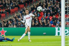 England international midfielder Alli swept home superbly to equalise for Spurs seven minutes before the break