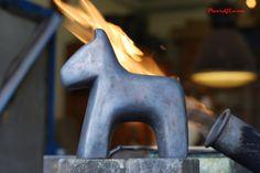 Bronze horse by Paardji