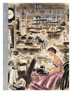The New Yorker Cover - March 22, 1952 Regular Giclee Print by Leonard Dove at Art.com