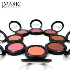 IMAGIC Maquillage Cheek Blush Poudre 8 Couleur blush couleur différente Poudre pressée Fondation Visage Maquillage Blush
