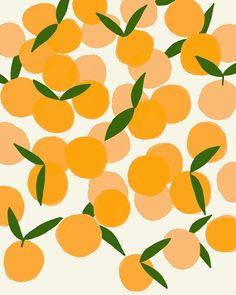 31 New Ideas Fruit Illustration Pattern Etsy Boho Pattern, Pattern Texture, Surface Pattern Design, Pattern Art, Fruit Pattern, Orange Pattern, Art And Illustration, Pattern Illustration, Pretty Patterns